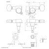Clavijero con Locking MGT 6L Black SG381-07 4