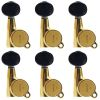 Clavijero 6L Gold SG381-05 Black