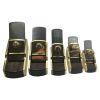 Set de Minicepillos de Bronce / Ebano. Base Curva (5 pcs)