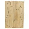 Set Único Nº 20 de Ash Americano para Cuerpo de Guitarra