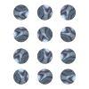Dots de Abalone de 4 mm ( 12 pcs )