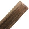 Mástil de Black Walnut Flameado para Bajo. Ref: BW-03