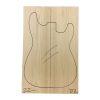 Set Único Nº 22 de Ash Americano para Cuerpo de Guitarra