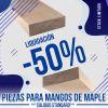 Mango de Maple **CALIDAD STANDARD ** para Guitarra 710 x 90 x 24 mm