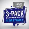 Cianoacrilato. Pack de 3 Unidades ( Fino - Grueso - Gel )
