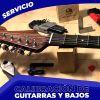 Calibración de Guitarras y Bajos Eléctricos