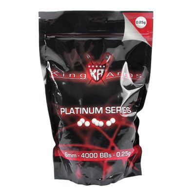 Balines King Arms 0,25 gr X 4000 unidades1