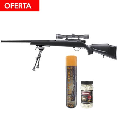 #Oferta PACK ELITE FORCE SX9 + GREEN GAS + 2000 Balines 0.31