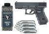 PACK Réplica Glock 19 cal 6mm +2800 balines +10 Co2
