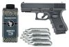 PACK Réplica Glock 19 cal 6mm +2800 balines +10 Co2