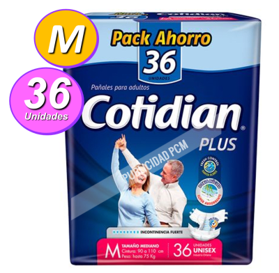 COTIDIAN PLUS M x 36 UN1