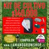 kit de cultivo 150w