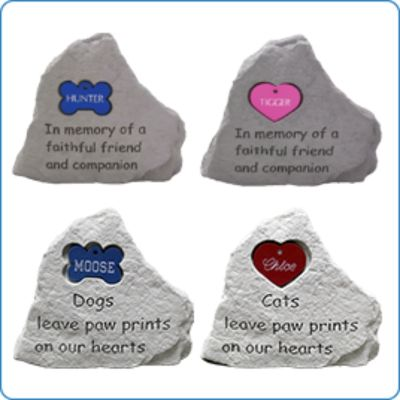 iMarc Memorial Stones Bone Tag
