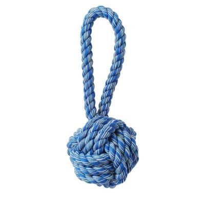 Jax&Bones Rope Toy 3in Red White Blue Celtic Kno