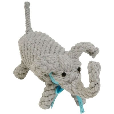 Jax&Bones Rope Toy Elephant 10in