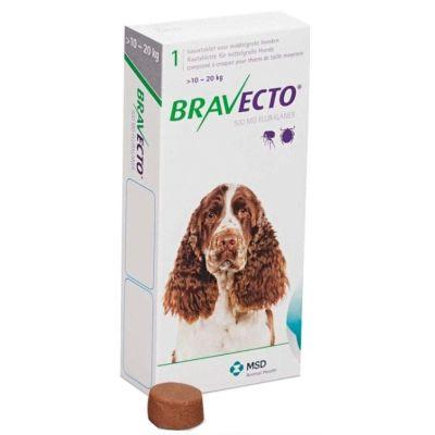 Antip Bravecto 10 A 20 Kg