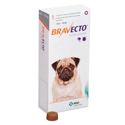 Antip Bravecto 4.5 A 10 Kg