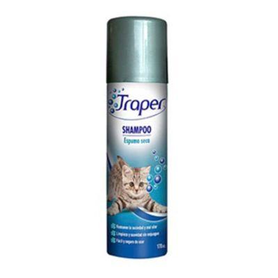 Shampoo Espuma Seca Gatos