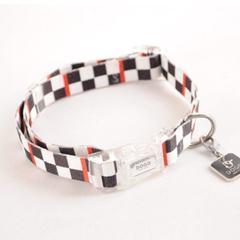 DogoPet Collar Contempo Checker