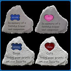 iMarc Memorial Stones Heart Tag