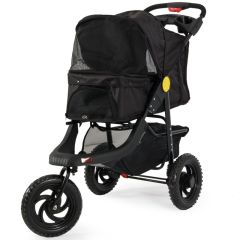 Petique Black Camo Stroller