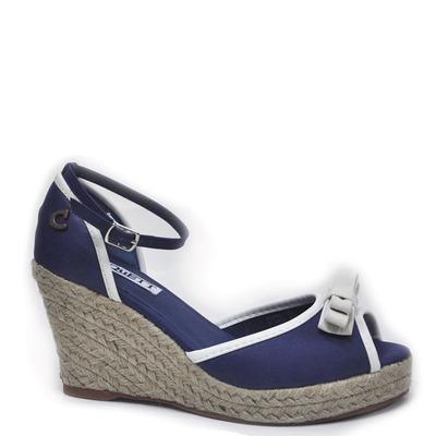 Zapato Taco Yute, Cinta Azul