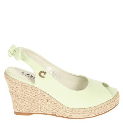 zapato taco yute, Verde Menta
