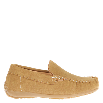 Mocasín Simple Infantil Beige