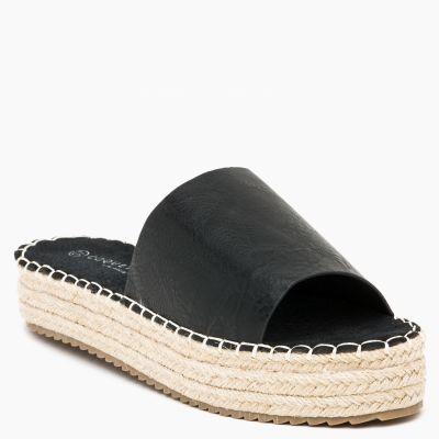 Sandalia Slider Negra
