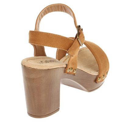 Sandalia Una Tira café