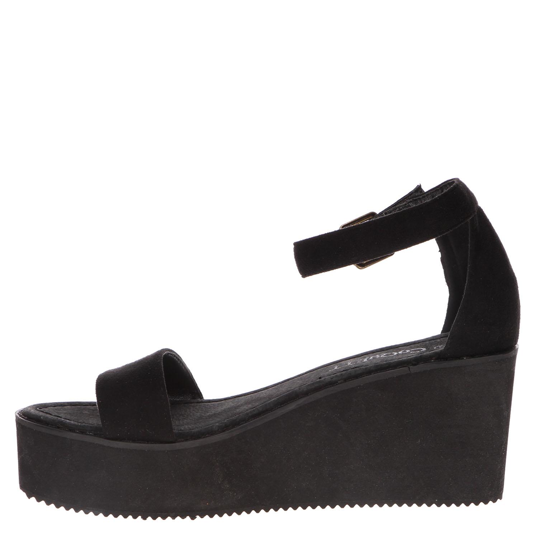 Sandalia elegante negra Coquett bqNhmX