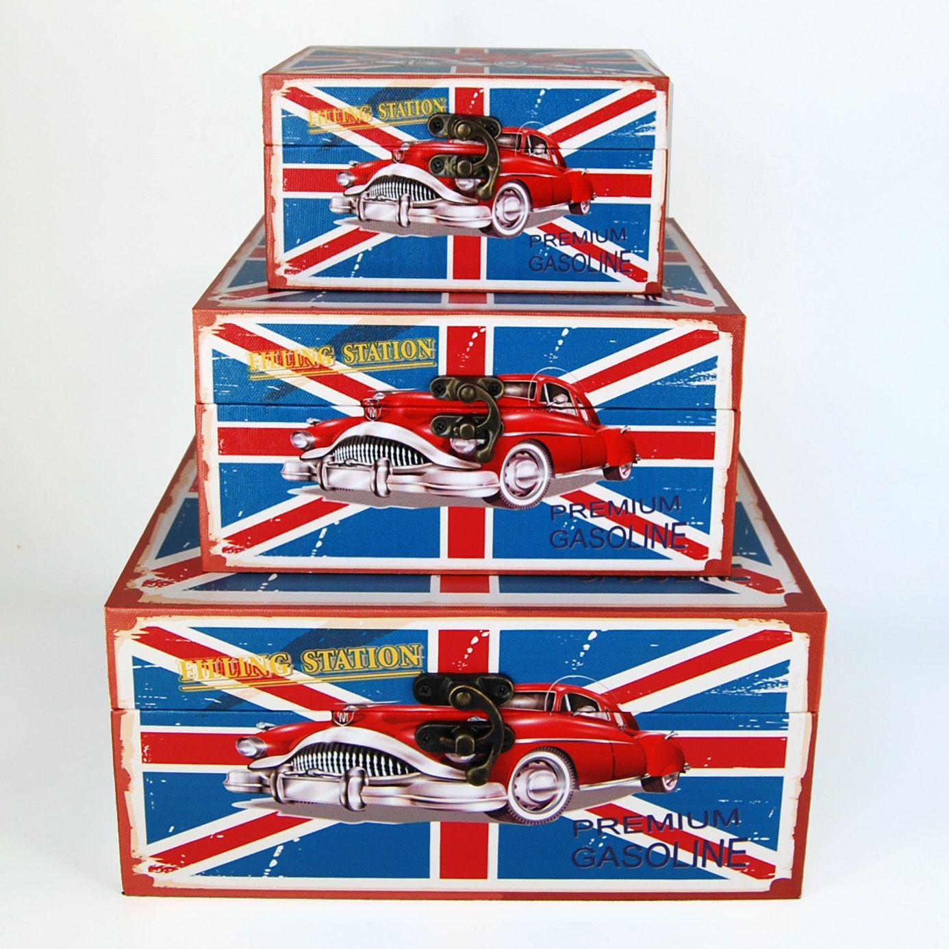 Caja British mediana