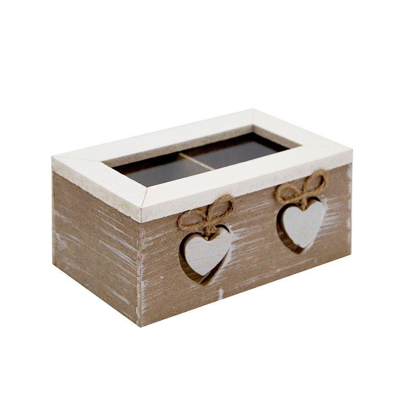 Caja Te x2 Corazón