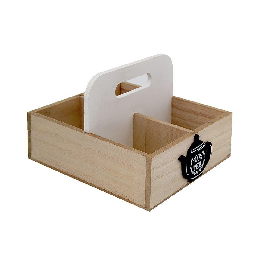 Caja Te x4 Manilla