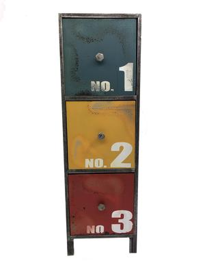 Mini Velador 3 Cajones 123