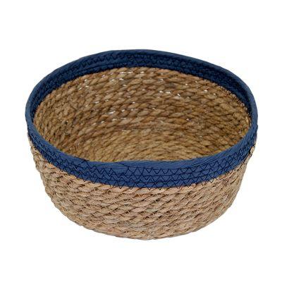 Canasto Borde Azul Mediano