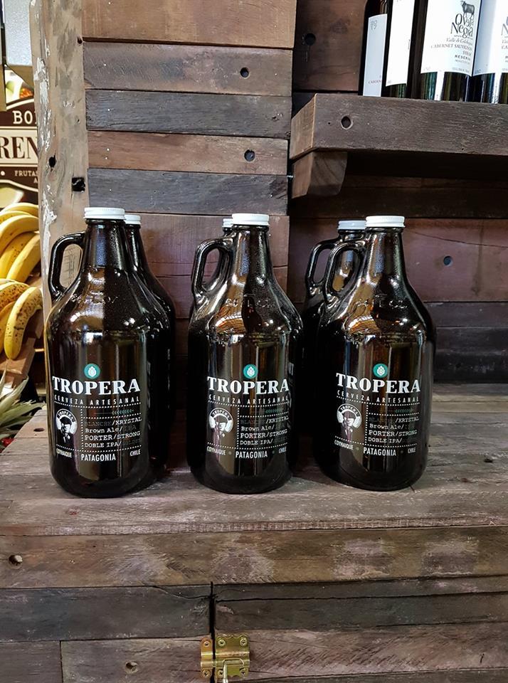 Growler + Cerveza Tropera 1 Lt. Estilo IPA