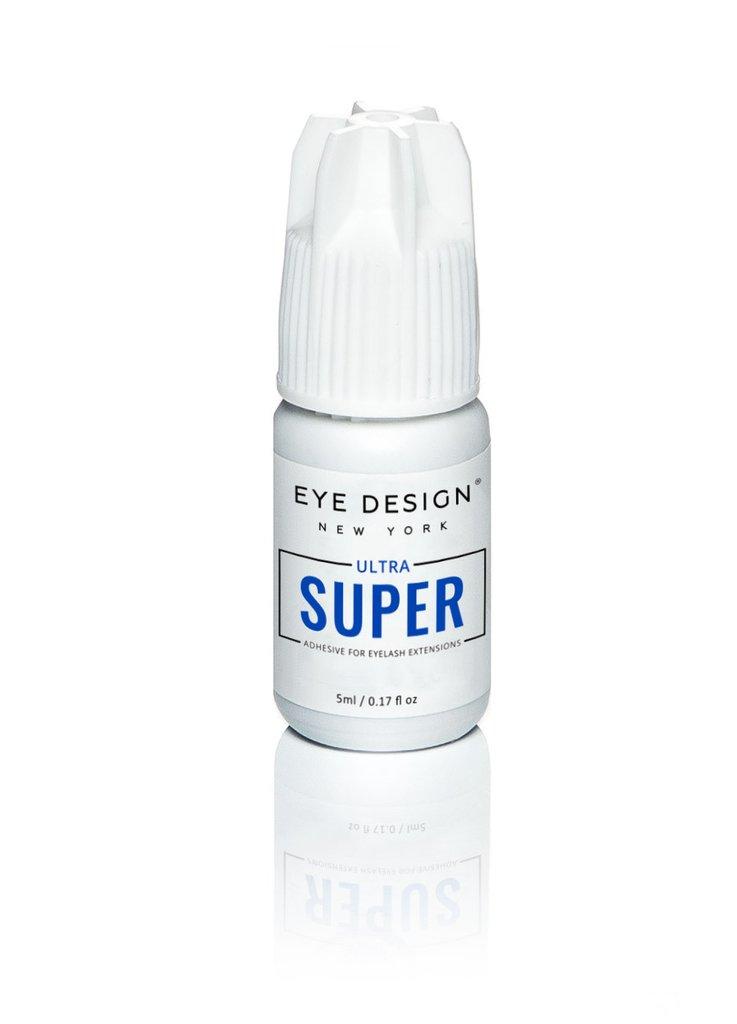 EyeDesign Adhesivo Extensiones de Pestañas - Ultra Super