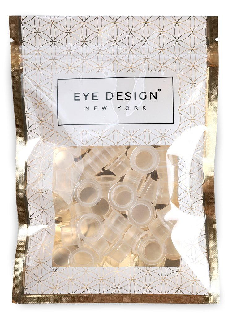 EyeDesign Microblading Pigment Cups - 50 Small