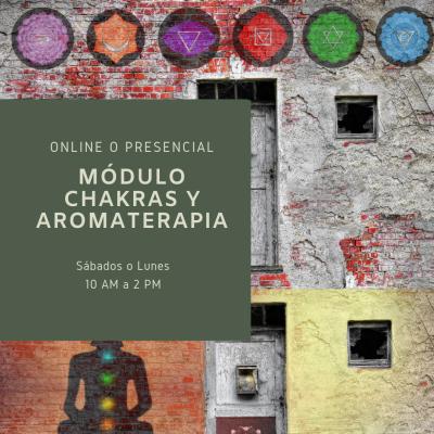 5. Aromaterapia y Chakras