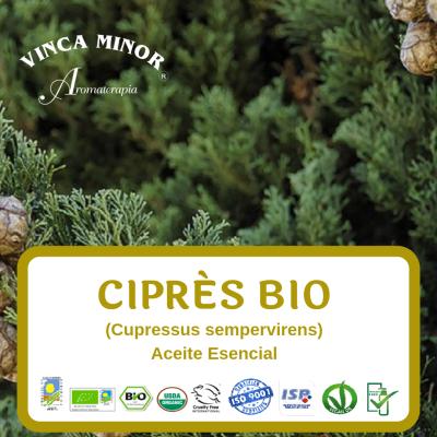 Ciprés Bio (Cupressus sempervirens oil)