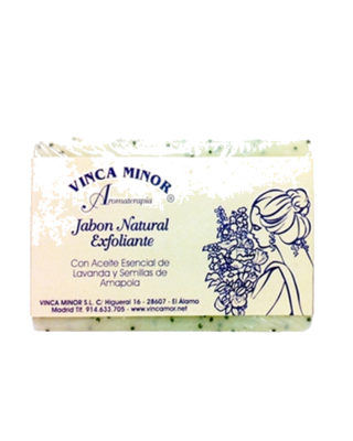 Jabón Lavanda y Ampola - Exfoliante
