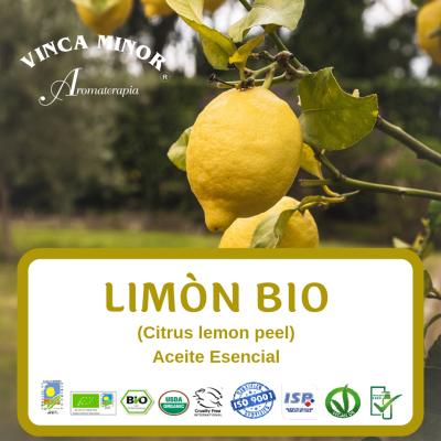 Limón Bio (Citrus lemon peel oil)