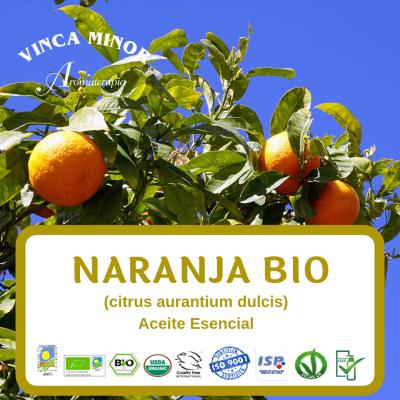 Naranja dulce Bio (citrus aurantium dulcis)