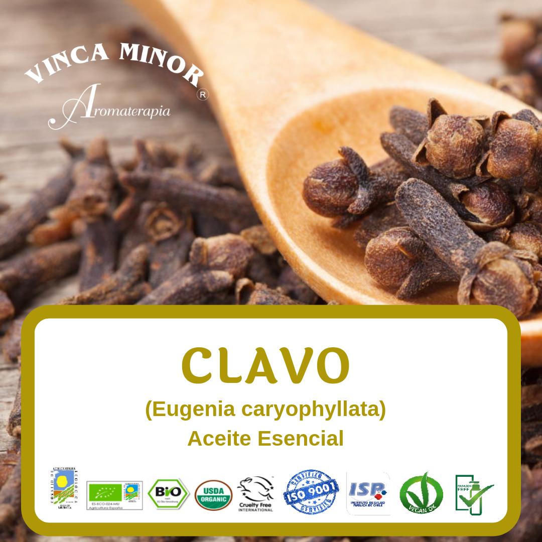 Clavo (Eugenia caryophyllata (clove) oil)