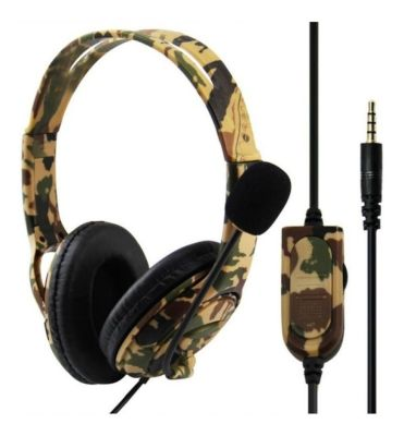 AUDIFONO GAMER MILITAR PARA P4/X/-ONE