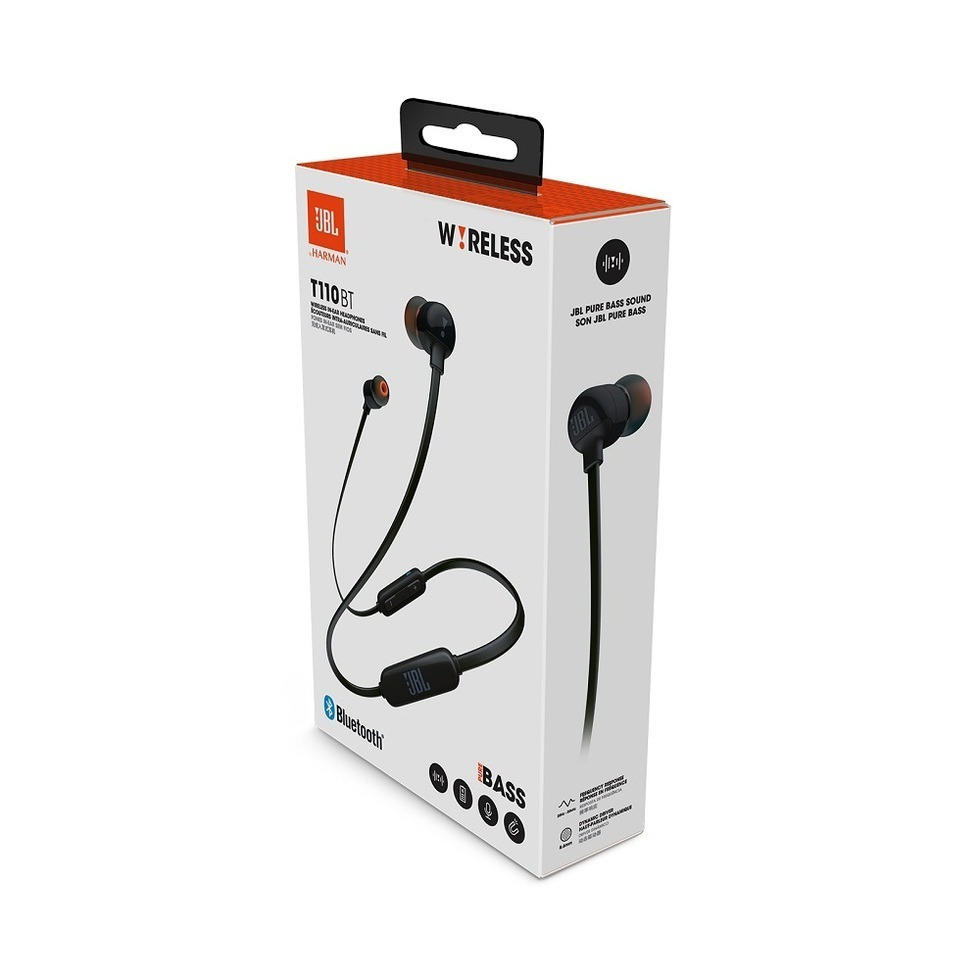 AUDIFONO BLACK T110 JBL BLUETOOTH