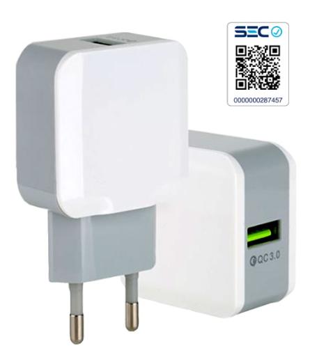 CARGADOR USB QC3.0  CLOVER