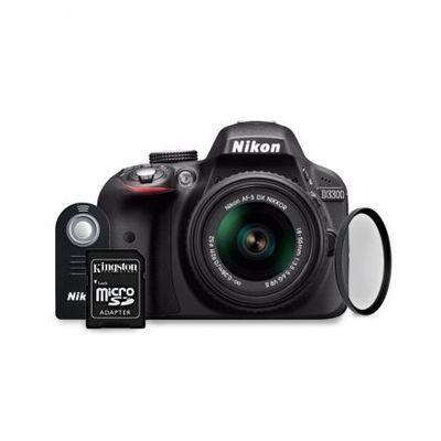 Cámara Nikon D3300 + Lente 18-55mm VRII