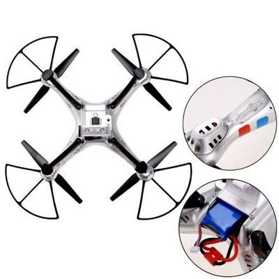 Yucheer Modo sin cabeza RC Drone RTF X8G